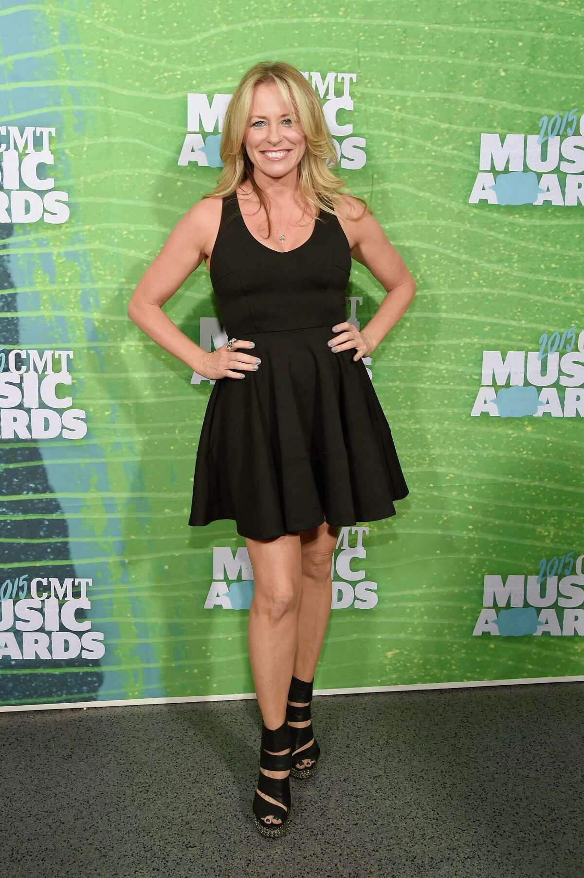 NASHVILLE, TN - JUNE 10: Deana Carter attends the 2015 CMT Music awards at the Bridgestone Arena on June 10, 2015 in Nashville, Tennessee.