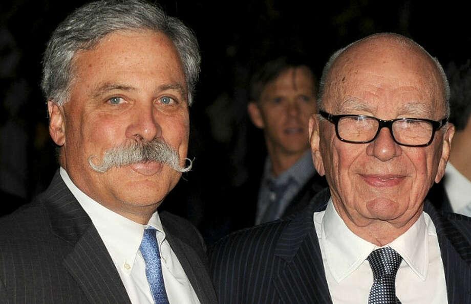Rupert Murdoch and Chase Carey