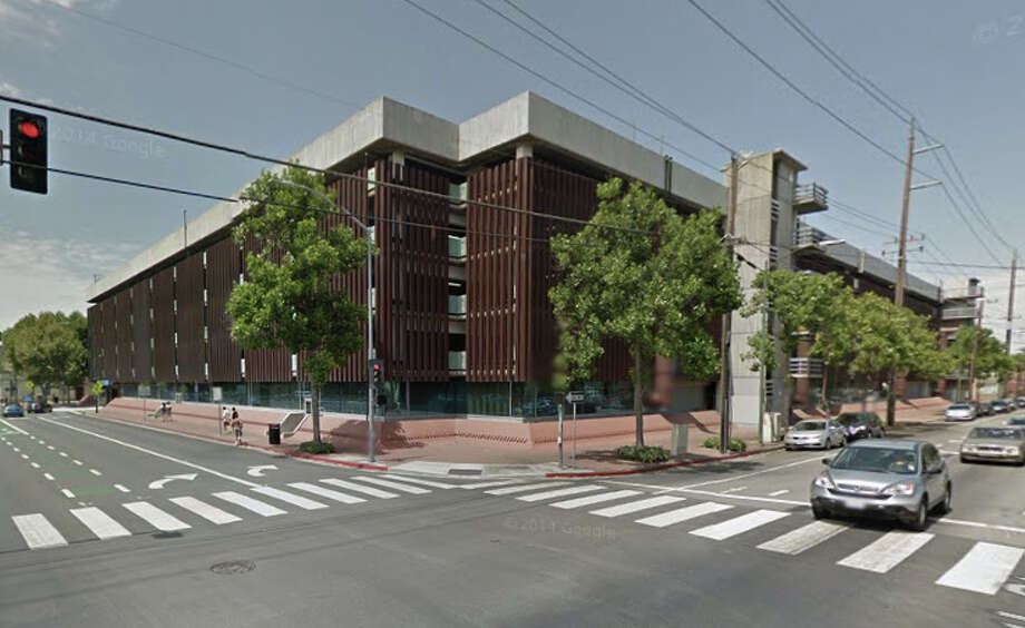 A woman was found dead at a San Jose State parking garage on the corner of South 10th St. and East San Fernando St. in San Jose, CA Photo: Google Maps
