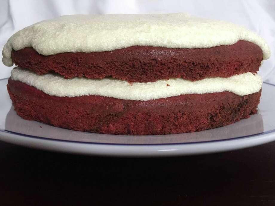 Red Velvet Cake for Recipe Swap Photo: Edmund Tijerina /San Antonio Express-News