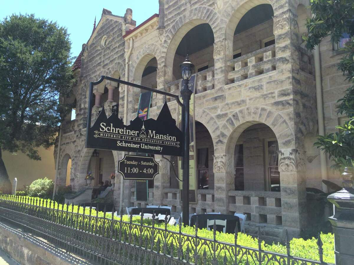 Schreiner Mansion, located in Kerrville's downtown historic district, was built for Charles Schreiner, who helped shape the Hill Country in the late 1800s.