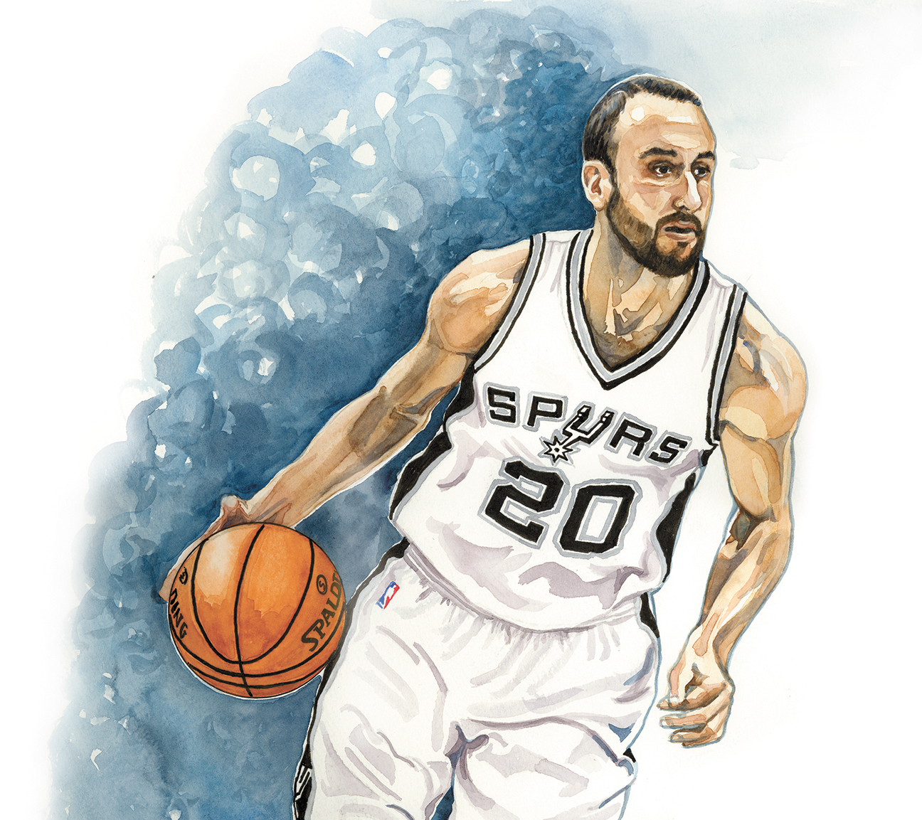 Nuggets Hall Of Famers: Point-Counterpoint: Is Manu Ginobili A Future Hall Of