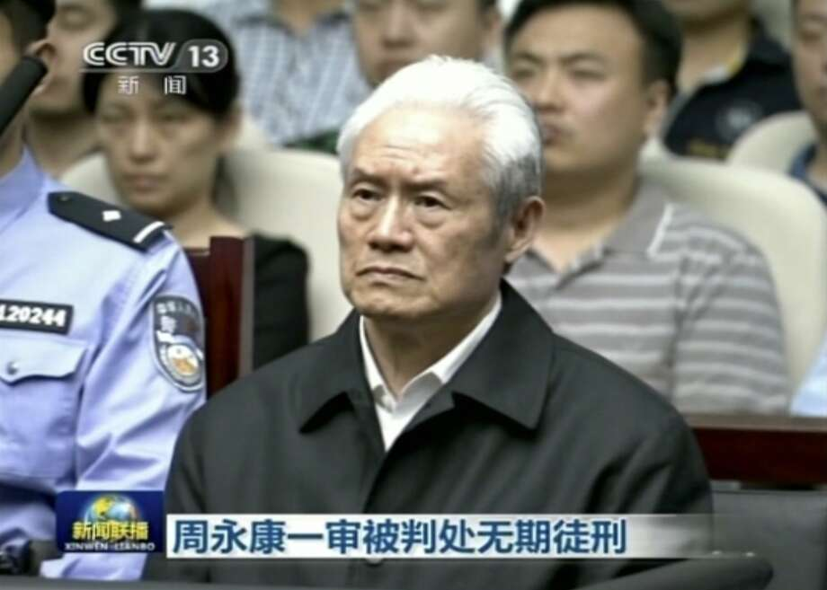 Zhou Yongkang is the most senior leader sentenced to prison for corruption. Photo: Associated Press
