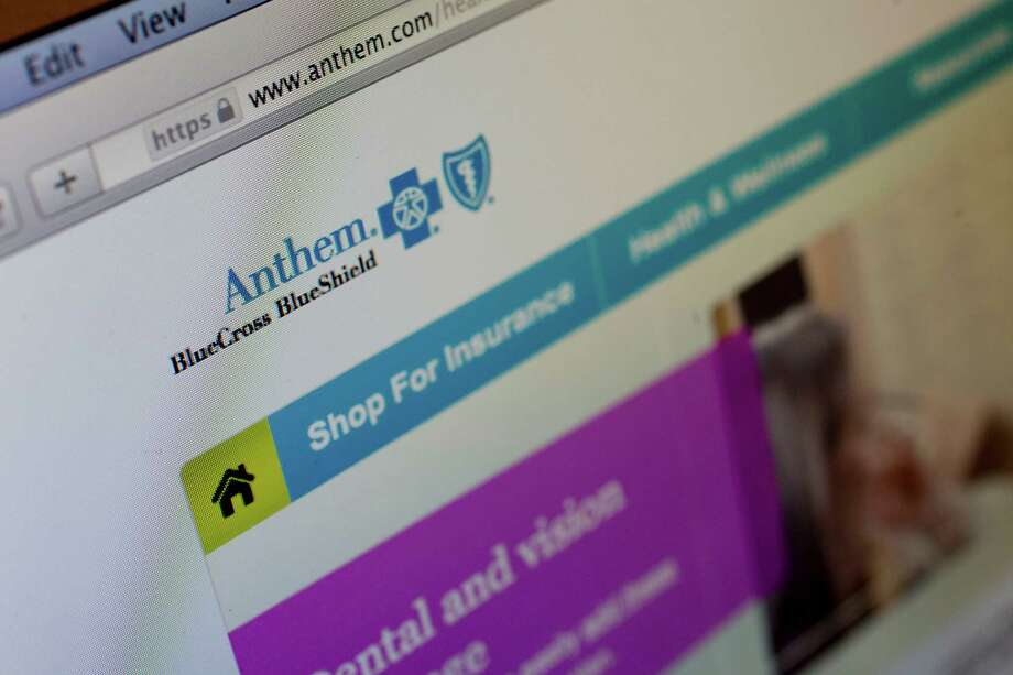 The Anthem Inc. website is displayed on a laptop computer for a photograph in Washington, D.C., U.S., on Thursday, Feb. 5, 2015. Anthem Inc., the second biggest U.S. health insurer by market value, said hackers obtained data on tens of millions of current and former customers and employees in a sophisticated attack that has led to a Federal Bureau of Investigation probe. Photographer: Andrew Harrer/Bloomberg Photo: Andrew Harrer, Bloomberg / © 2015 Bloomberg Finance LP