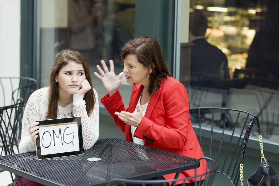 A daughter wants to hide from her overbearing mom. Photo: Kevin Dodge