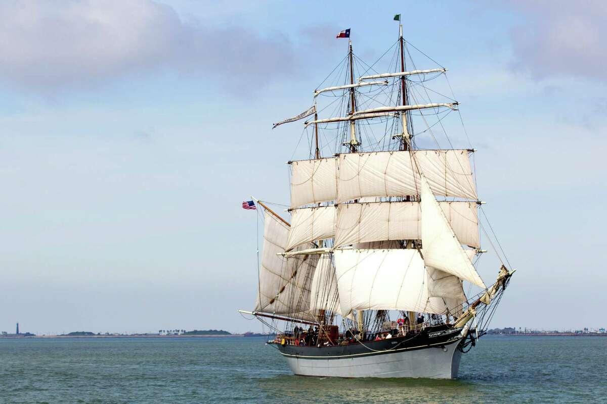 Visit the Tall Ship Elissa Located at the Texas Seaport Museum on Pier 21, The Elissa is still sea-worthy more than 135 years after its initial launch. Built in 1877, the three-masted sailing ship was named after i'ts builder's granddaughter.