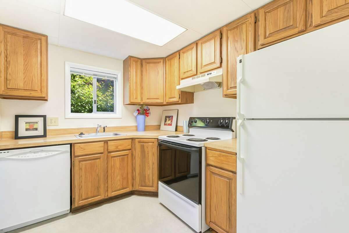 The kitchen in 8720 16th Ave. N.W.