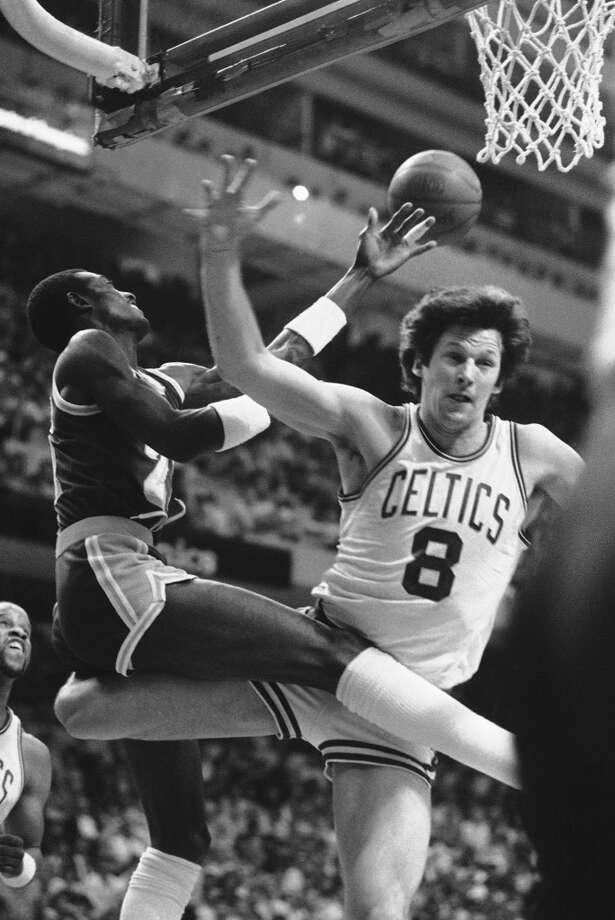 1985: Scott Wedman, Celtics An obscure reserve on Boston's... Photo-8136502.111469 - Houston ...