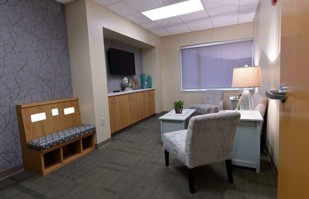 The consultation room within the new cancer center Thursday, June 6, 2015, at St. Mary's Hospital in Troy, N.Y. (Skip Dickstein/Times Union) Photo: SKIP DICKSTEIN / 00032196A