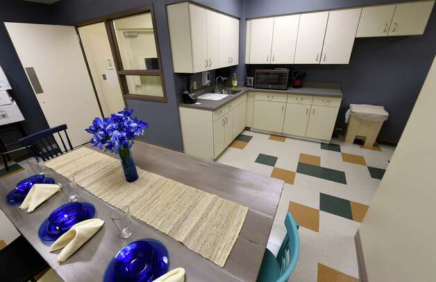 The kitchen to be used by patients at the new cancer center Thursday, June 6, 2015, at St. Mary's Hospital in Troy, N.Y. (Skip Dickstein/Times Union) Photo: SKIP DICKSTEIN / 00032196A