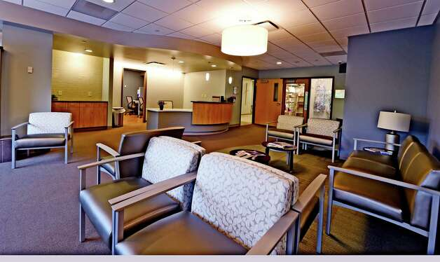 Interior view of the waiting room at the new cancer center Thursday, June 6, 2015, at St. Mary's Hospital in Troy, N.Y. (Skip Dickstein/Times Union) Photo: SKIP DICKSTEIN / 00032196A