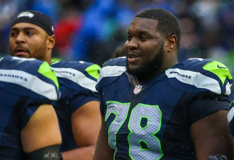 PFF ranking: Not Enough Info Alvin Bailey Position: Guard Experience: 2 College: Arkansas Notes: The frontrunner for James Carpenter's vacated left guard spot, Bailey started games there and at both tackle positions last year. Photo: Joshua Trujillo, Seattlepi.com
