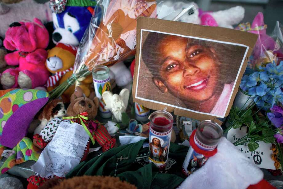 Tamir Rice (June 25, 2002-November 23, 2014) Rice, a 12-year-old boy at the time, was shot to death by a Cleveland police officer Timothy Loehmann. The Associated Press reported that Loehmann was cleared of criminal wrongdoing in November 2014 in Rice's death. The pre-teen was killed as he played with a pellet gun outside a Cleveland recreation center. Loehmann was later fired from the force for omitting materials on his job application. Photo: TY WRIGHT, STR / NYTNS