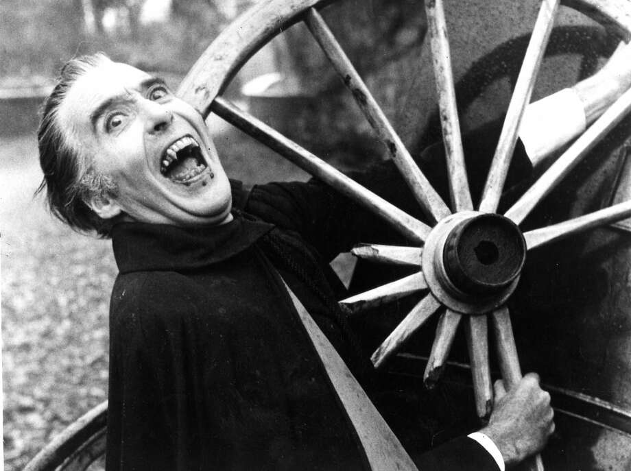 """Christopher Lee reprised his most famous role in 1966's """"Dracula: Prince of Darkness."""" Photo: Chronicle File Photo"""