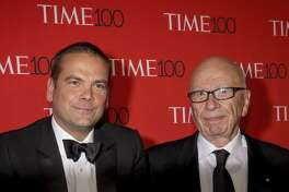 Lachlan Murdoch and Rupert Murdoch | Photo Credits: Corbis