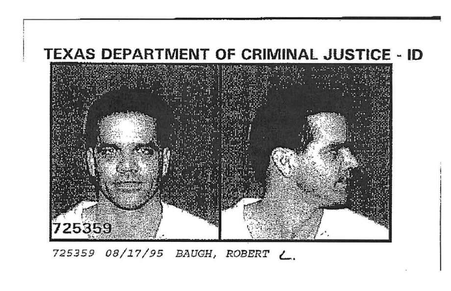 Robert Baugh, pictured in a 1995 photo taken by law enforcement in Texas. A more recent photo of Baugh, a sex offender recently convicted of collecting child pornography, was not available. Photo: -