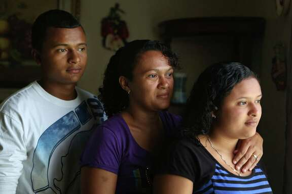 Gladys Torres' son Carlos Lopez, 15, and daughter Kimberly Lopez, 13, were granted special immigrant juvenile status to stay in the U.S.