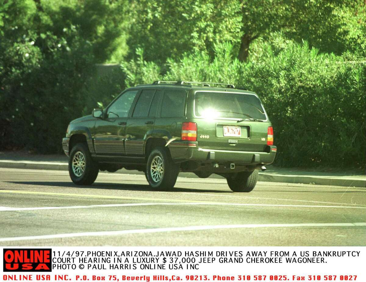 8. Jeep Cherokee/Grand Cherokee: 9,272 thefts