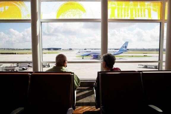 New Terminal B gates area at the San Antonio International Airport.