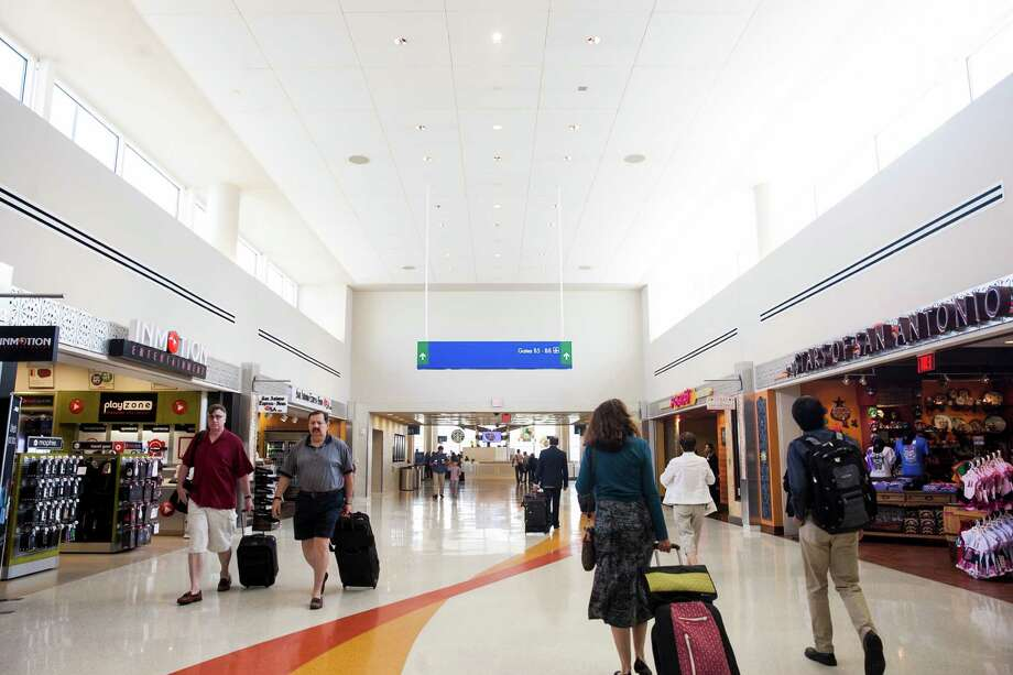 San Antonio has just completed renovation of Terminal A, and its in the midst of construction of a consolidated rental car facility. But it is time to think regionally. Photo: Julysa Sosa /For The Express-News / San Antonio Express-News