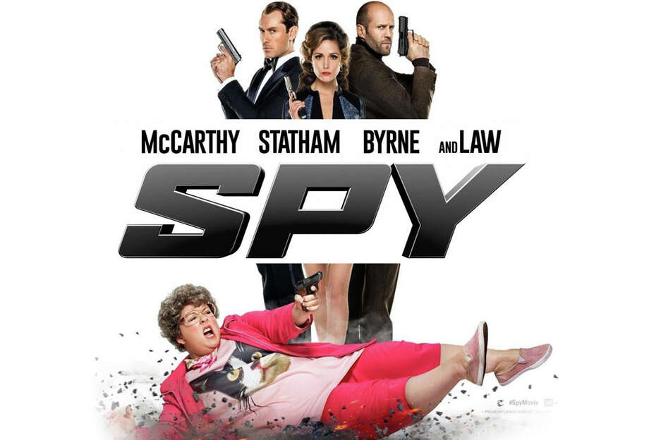 """Melissa McCarthy stars in the new movie comedy, """"Spy."""" Photo: Contributed Photo / Contributed Photo / Westport News"""