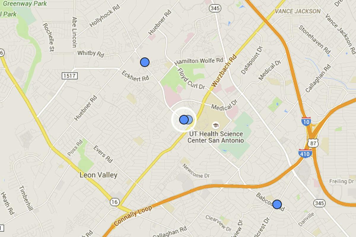 JACK IN THE BOX: 2465 BABCOCK RD San Antonio , TX 78229 Date: 06/08/2015 Demerits: 14