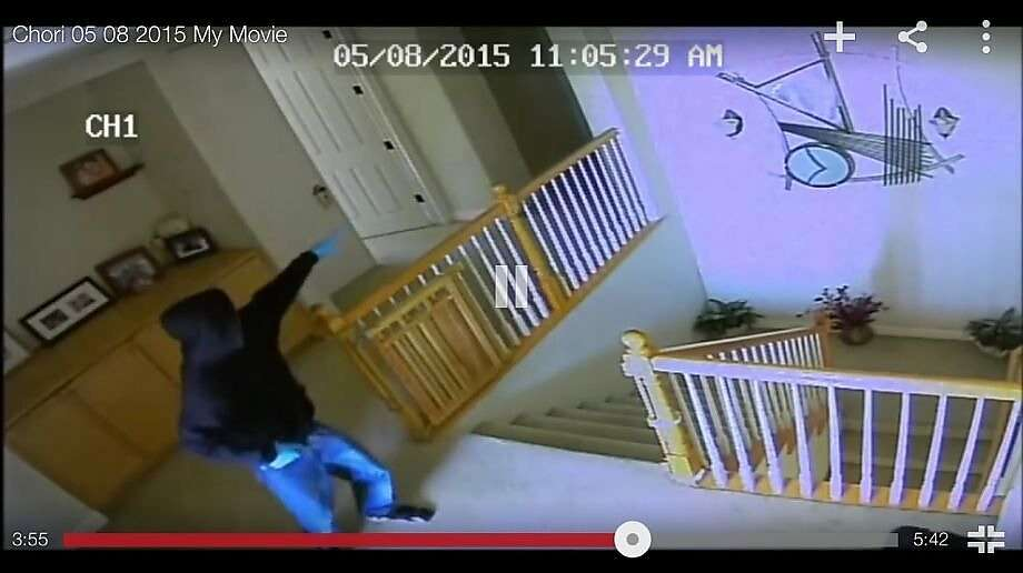 These two teens were caught on video in a San Jose home-invasion robbery Photo: YouTube Video