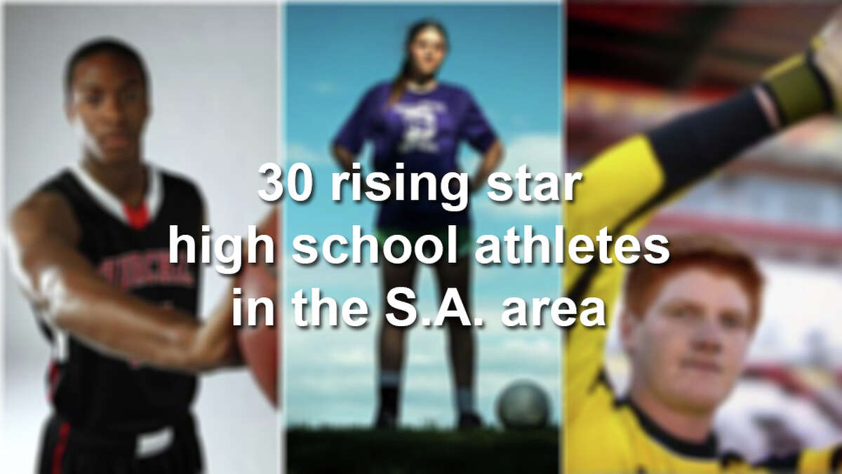 Click through the gallery to see 30 young athletes in the San Antonio area to keep an eye on.
