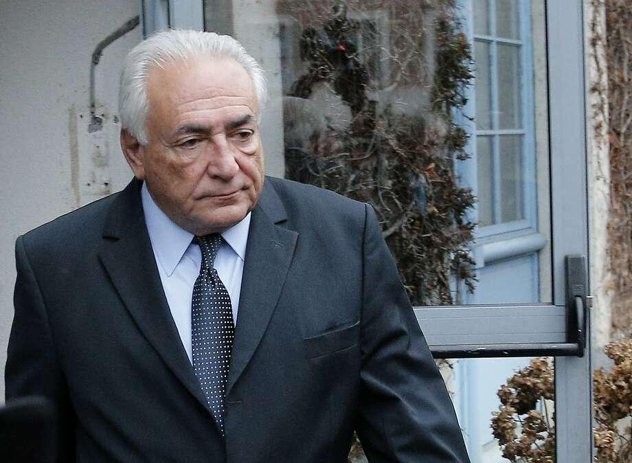 Domi nique Strauss- Kahn had run for French president. Photo: Christophe Ena, Associated Press