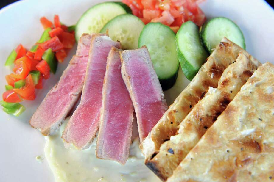 BWP Local Grille, 74 Weibel Ave., Saratoga Springs. 518-763-2975 and 763-2323. Visit web site. Read our review. Ahi Tuna appetizer on Friday, June 5, 2015, at BWP in Saratoga Springs, N.Y. (Cindy Schultz / Times Union) Photo: Cindy Schultz / 00032160A