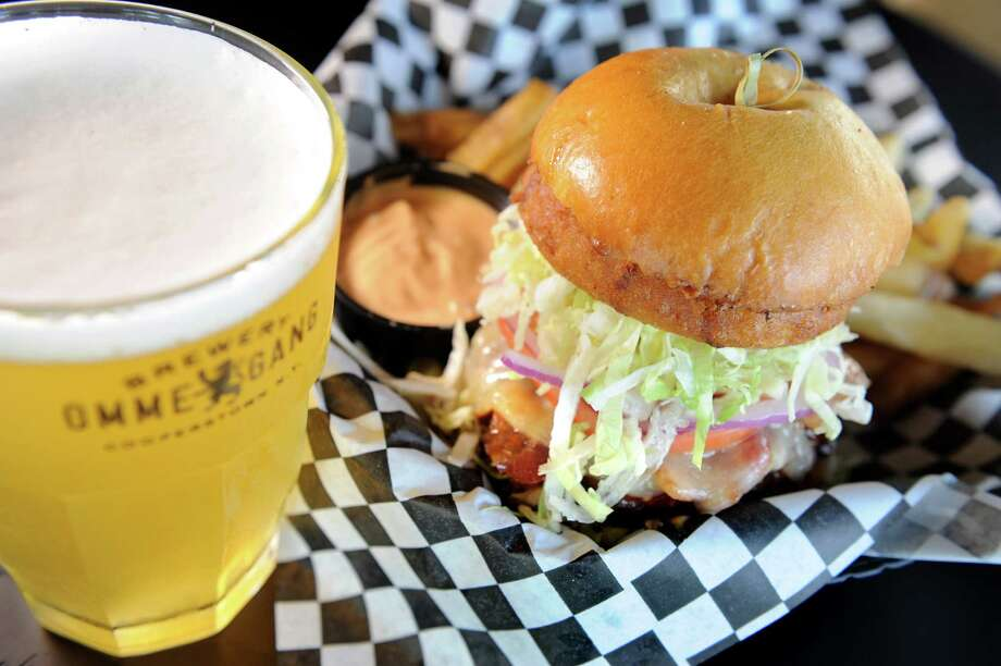 BWP Local Grille, 74 Weibel Ave., Saratoga Springs. 518-763-2975 and 763-2323.Visit web site.Read our review.BBQ Burger with a glass of Ommegang Witte on Friday, June 5, 2015, at BWP in Saratoga Springs, N.Y. (Cindy Schultz / Times Union) Photo: Cindy Schultz / 00032160A