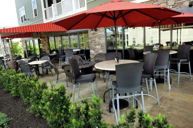 Patio area on Friday, June 5, 2015, at BWP in Saratoga Springs, N.Y. (Cindy Schultz / Times Union) Photo: Cindy Schultz / 00032160A