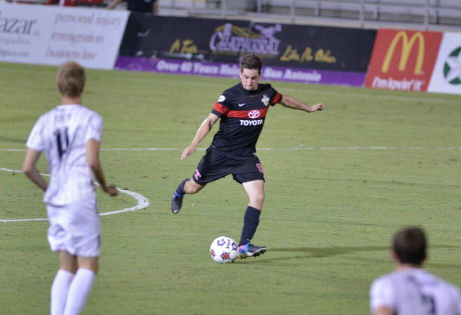 Since Tyler Gibson's promotion to the starting lineup, the Scorpions have gone 3-1-1 to climb out of the NASL basement. Photo: Courtesy Photo / San Antonio Scorpions