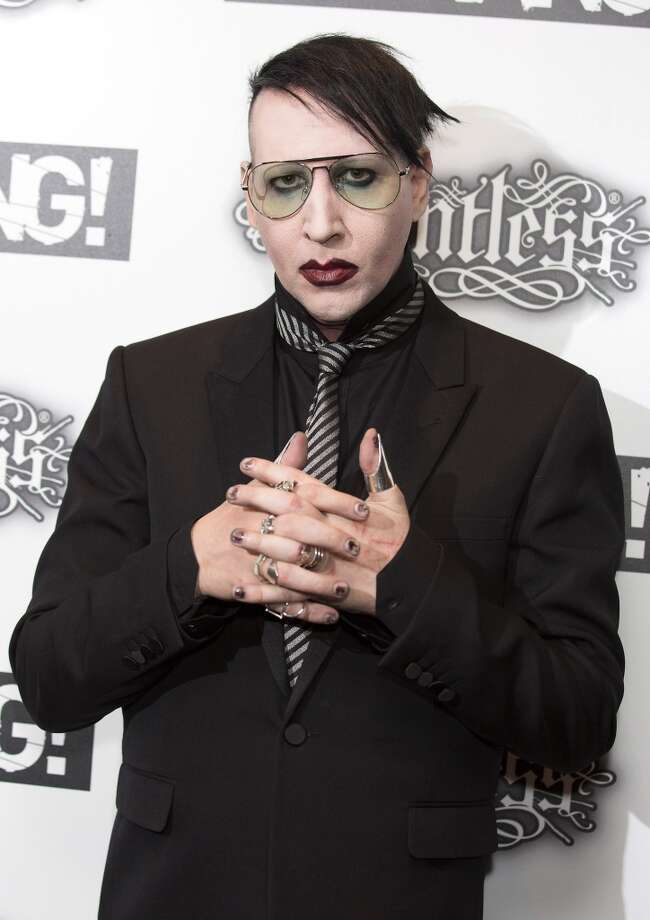 Marilyn Manson attends the Relentless Energy Drink Kerrang! Awards at the Troxy on June 11, 2015 in London, England.  (Photo by Jo Hale/Redferns via Getty Images) Photo: Jo Hale, Redferns Via Getty Images
