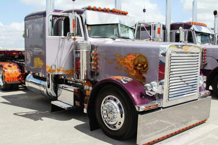 Numerous high-dollar big rigs made their way to Retama Park this week for the 2015 Rotella SuperRigs showcase. Photo: Tyler White/SAEN