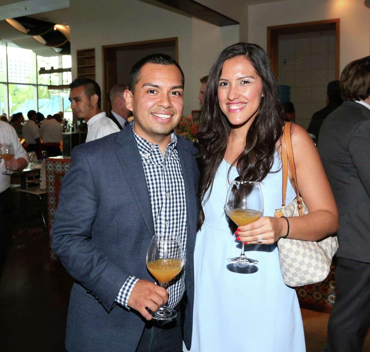 Carlos Neri and Sonya Carr