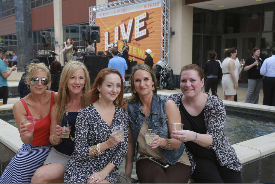 Live at Gateway, the open-air, live music and happy hour celebration at Gateway Memorial City, continues every other Wednesday. The next event is June 17. Photo: MetroNational