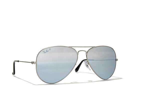 Cool cat: A pair of Ray-Ban aviator sunglasses will pilot dad into any situation with a large degree of suave. The polarized lenses boost performance while your favorite guy has it made in the shade; $199.95 at Macy s.