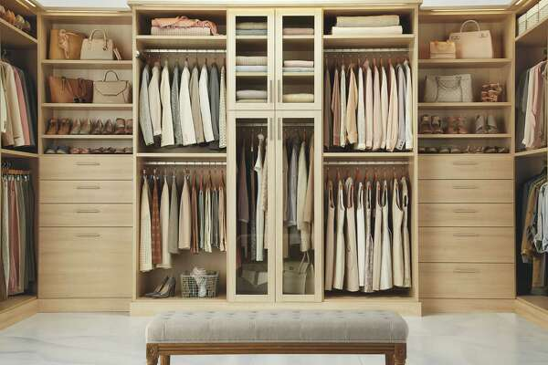 Get Organized With An Elegant Custom Closet System