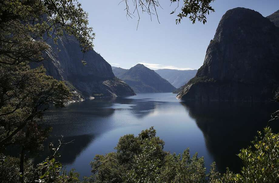 Hetch Hetchy Reservoir June 12, 2015 in Yosemite National Park, Calif. The 117-billion-gallon reservoir supplies water to millions of Bay Area residents. Photo: Leah Millis, The Chronicle