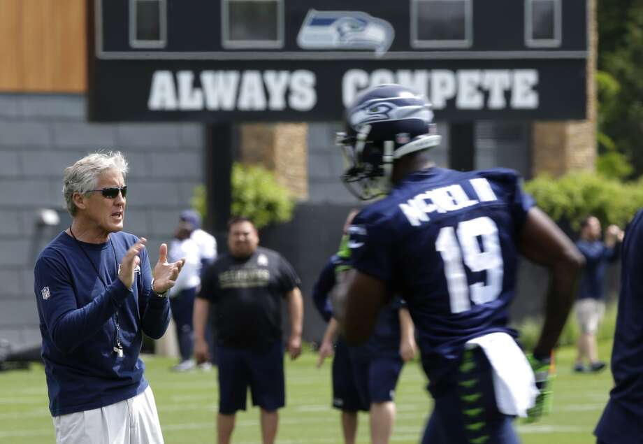 "1. Hawks hitting the offseason hard There apparently has been no Super Bowl hangover for the Seahawks after they came up just short against the New England Patriots in February. Several players and coaches, including head coach Pete Carroll and safety Kam Chancellor, mentioned that the 2015 offseason was among the best they could remember. ""It feels like this offseason, everybody worked their hardest,"" Chancellor said after practice on May 26. ""I've seen guys out here busting their tails, the whole offseason going fast-tempo. Guys are lifting like crazy. ... We're more focused, more driven. We're just hungry for the first game of the year."" Photo: Ted S. Warren, Associated Press"