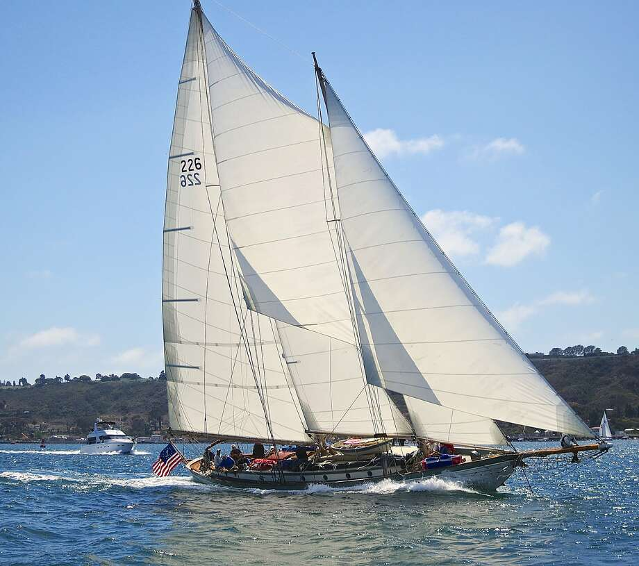The sailing schooner Martha will be participating in the eighth annual Great San Francisco Schooner Race on San Francisco Bay. The Martha, in the Bay Area for a series of races, will sail in the Transpacific race to Hawaii in July. Photo: Cameron Robert, Courtesy Of Robert DArcy