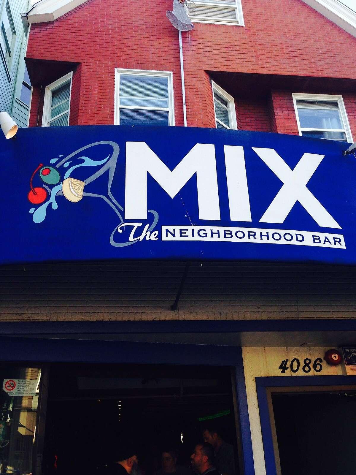 Castro gay bar The Mix, June, 2015.