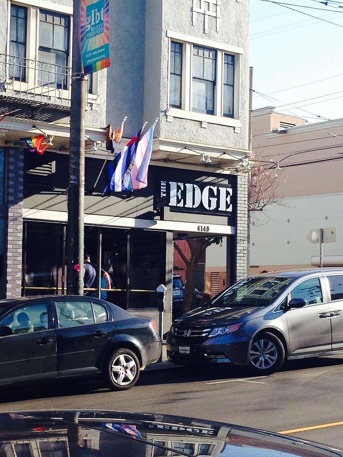 Castro gay bar The Edge, June, 2015.