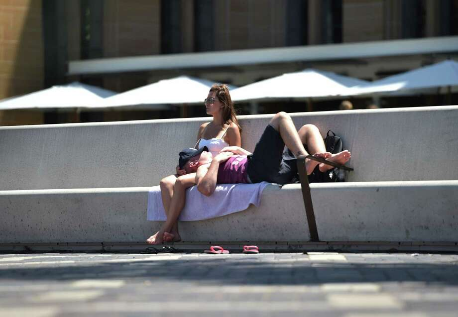 Worst: Scalding pavementOn 100 degree days the ground can melt a cheap pair of flip flops and the heat radiating from below doubles the drain on your energy. Photo: PETER PARKS, Getty Images / AFP