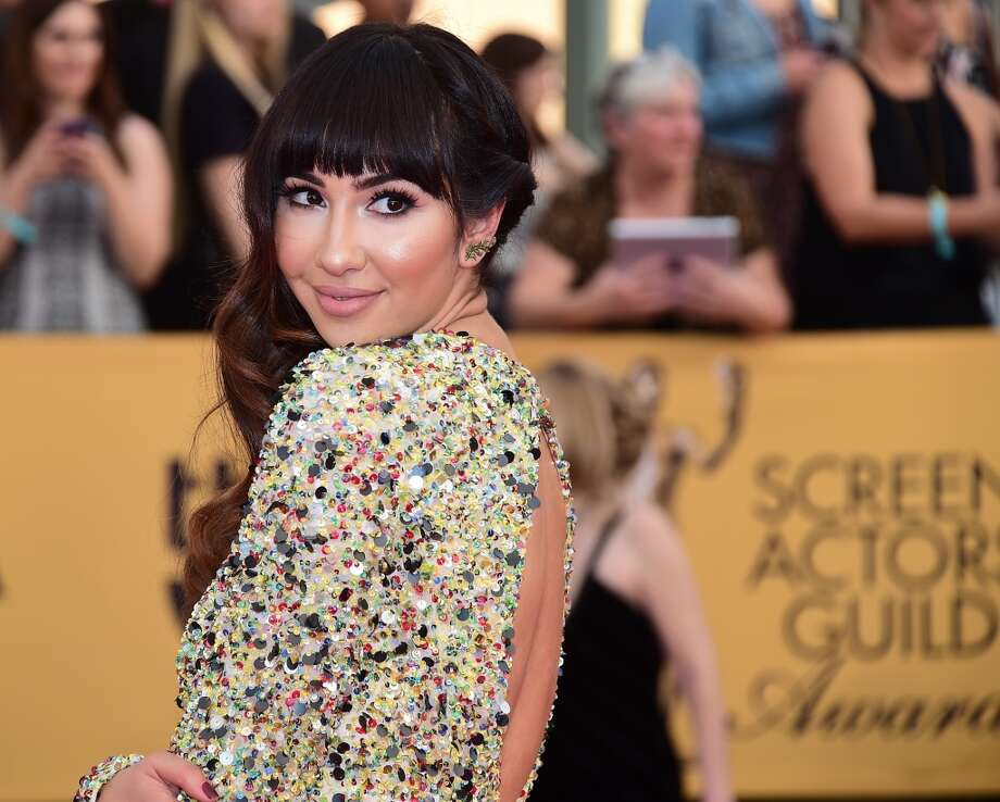 "Jackie Cruz from ""Orange is the New Black"" honors her idol Selena with a reworking of ""Como la Flor."" Photo: FREDERIC J. BROWN, AFP/Getty Images"