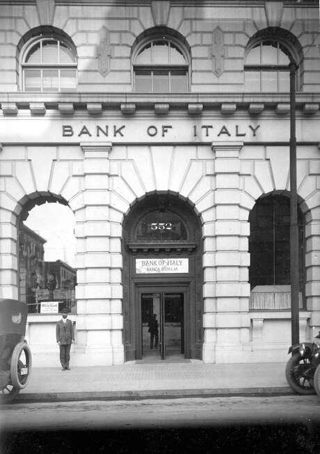 1911: The Bank of Italy's Clay-Montgomery office. Photo: Chronicle File / Chronicle File Photo 1911 / ONLINE_CHECK