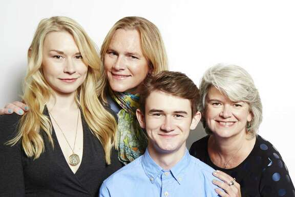 """Sutton Crawford, from left, Carly Lehwald, Ben Lehwald and Suzy Crawford are the focus of the unscripted reality show """"Becoming Us."""""""