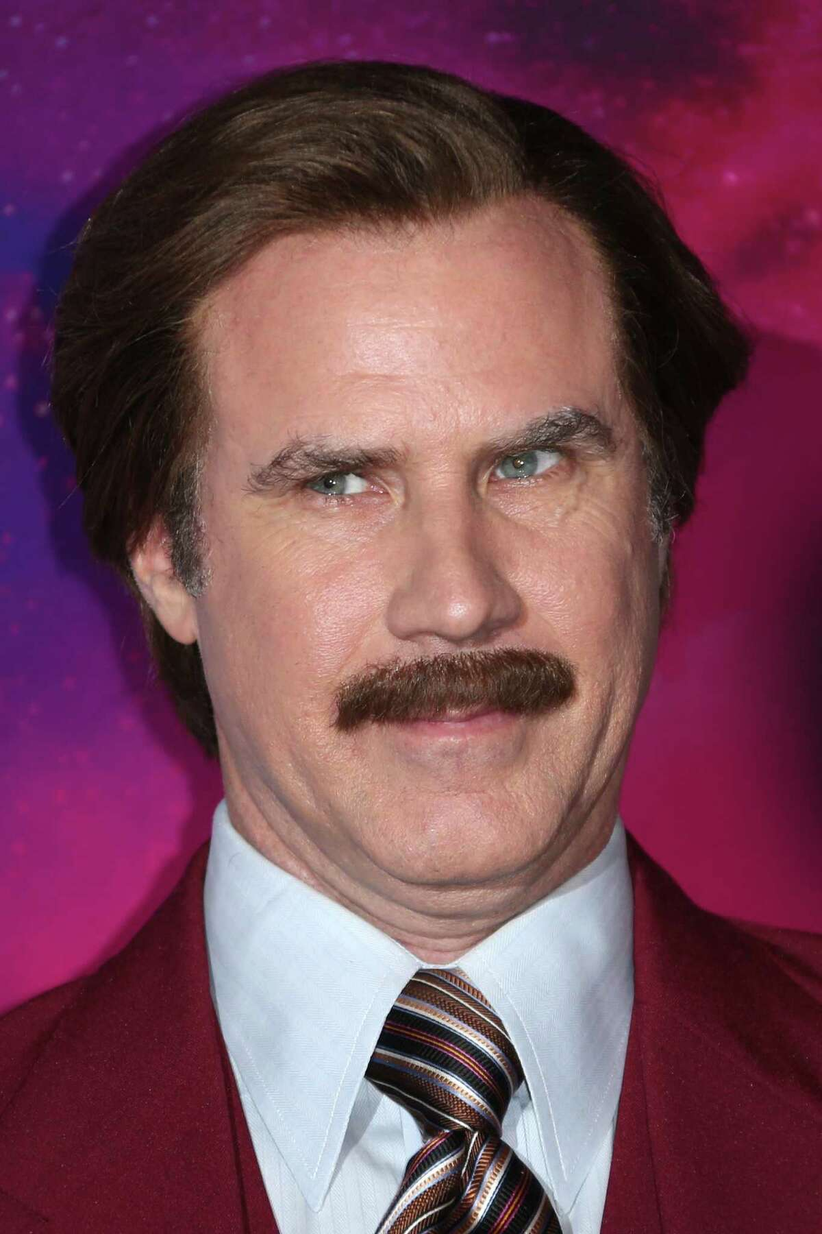 Supporters of hydraulic fracturing are using Will Ferrell's Ancorhman film character Ron Burgundy on a new website intended to get a foothold in social media now dominated by fracturing opponents. (Photo by Joel Ryan/Invision/AP)