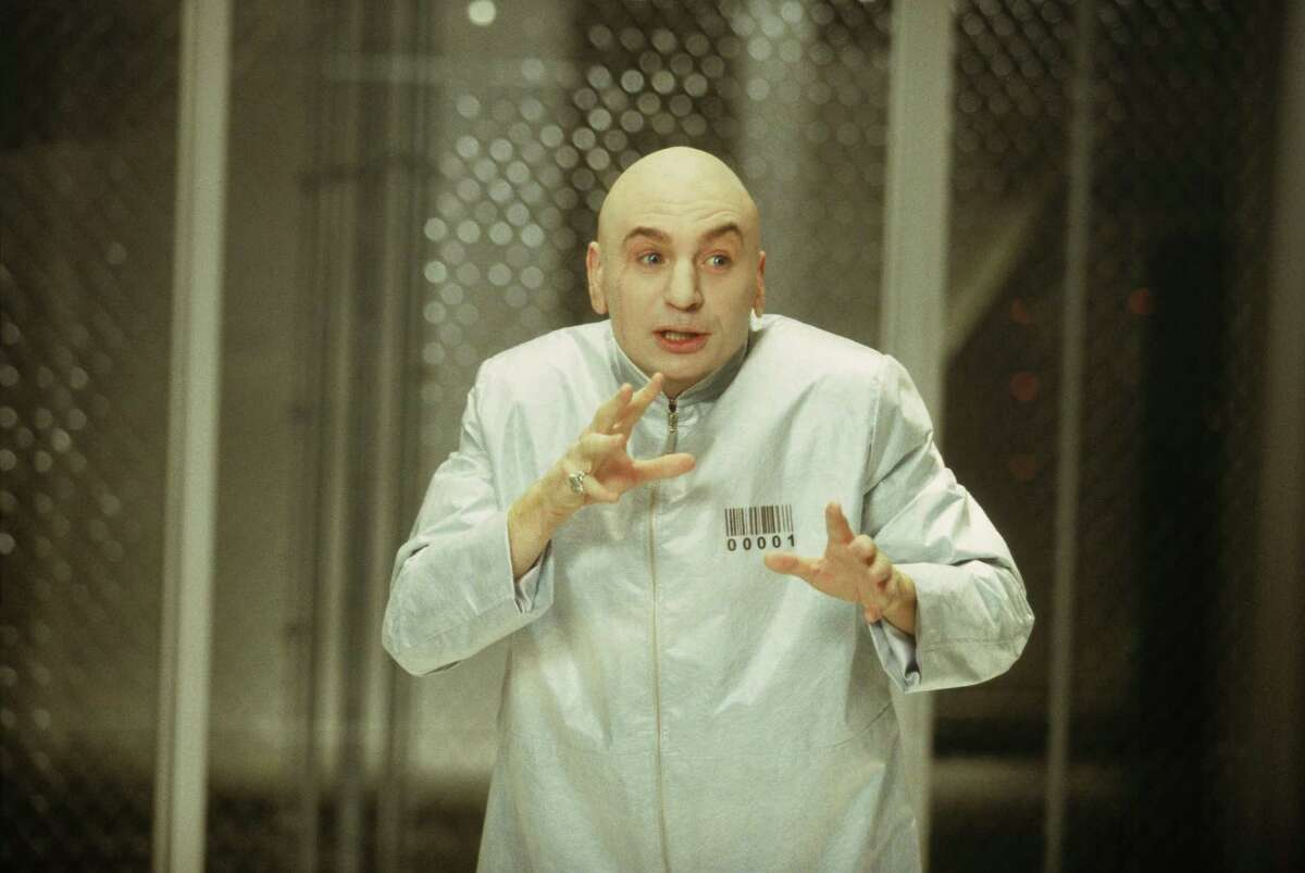 Supporters of hydraulic fracturing are using Mike Myers' Dr. Evil character on a new website intended to get a foothold in social media now dominated by fracturing opponents. Photo: Melinda Sue Gordon/SMPSP/New Line Productions 2002 New Line Productions, Inc. All Rights Reserved.